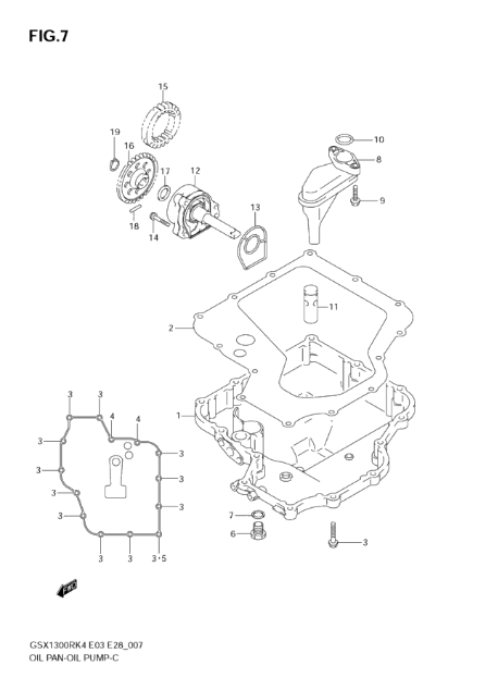 OIL PAN - OIL PUMP